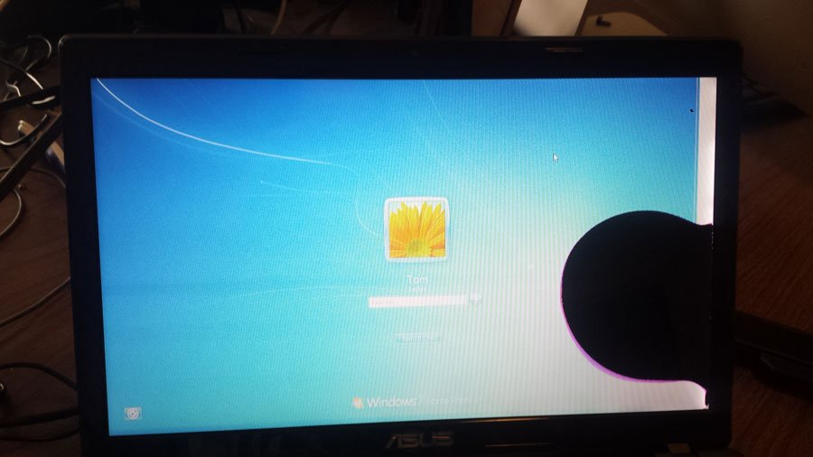 Pineapple PC fixes broken laptop screens